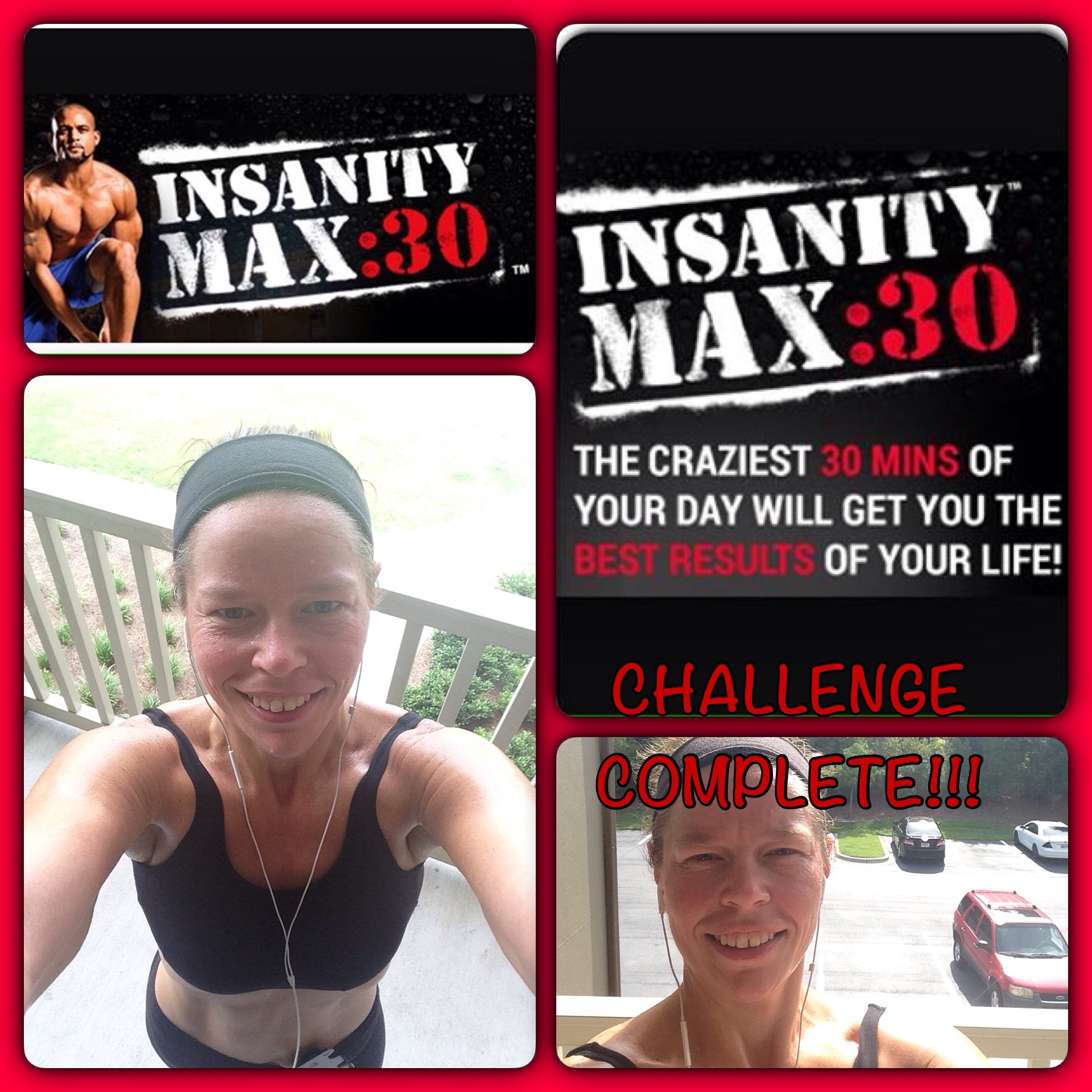 Insanity Max 30 Challenge Complete and More Weight Gone